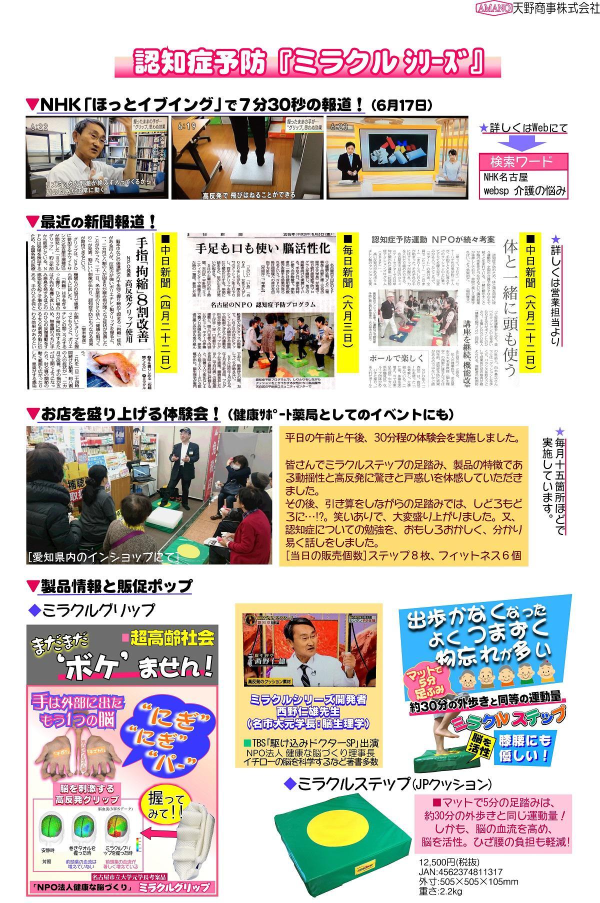 メディア報道・イベント展開の報告
